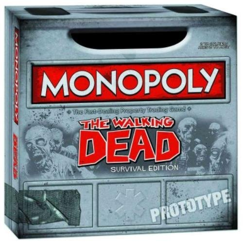 Walking Dead Monopoly - Post Apocalyptic Christmas Gift Idea