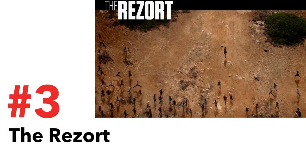 Post Apocalyptic scene from the Rezort movie