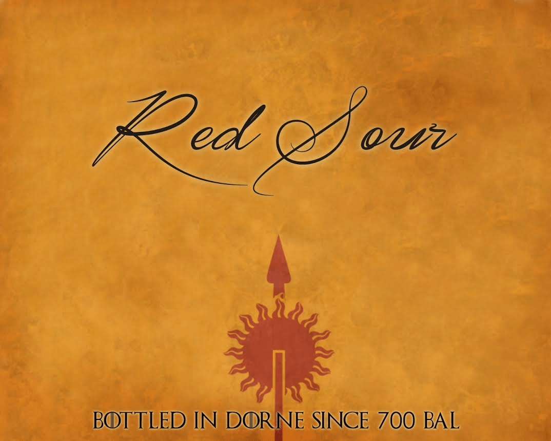 dornish wine label