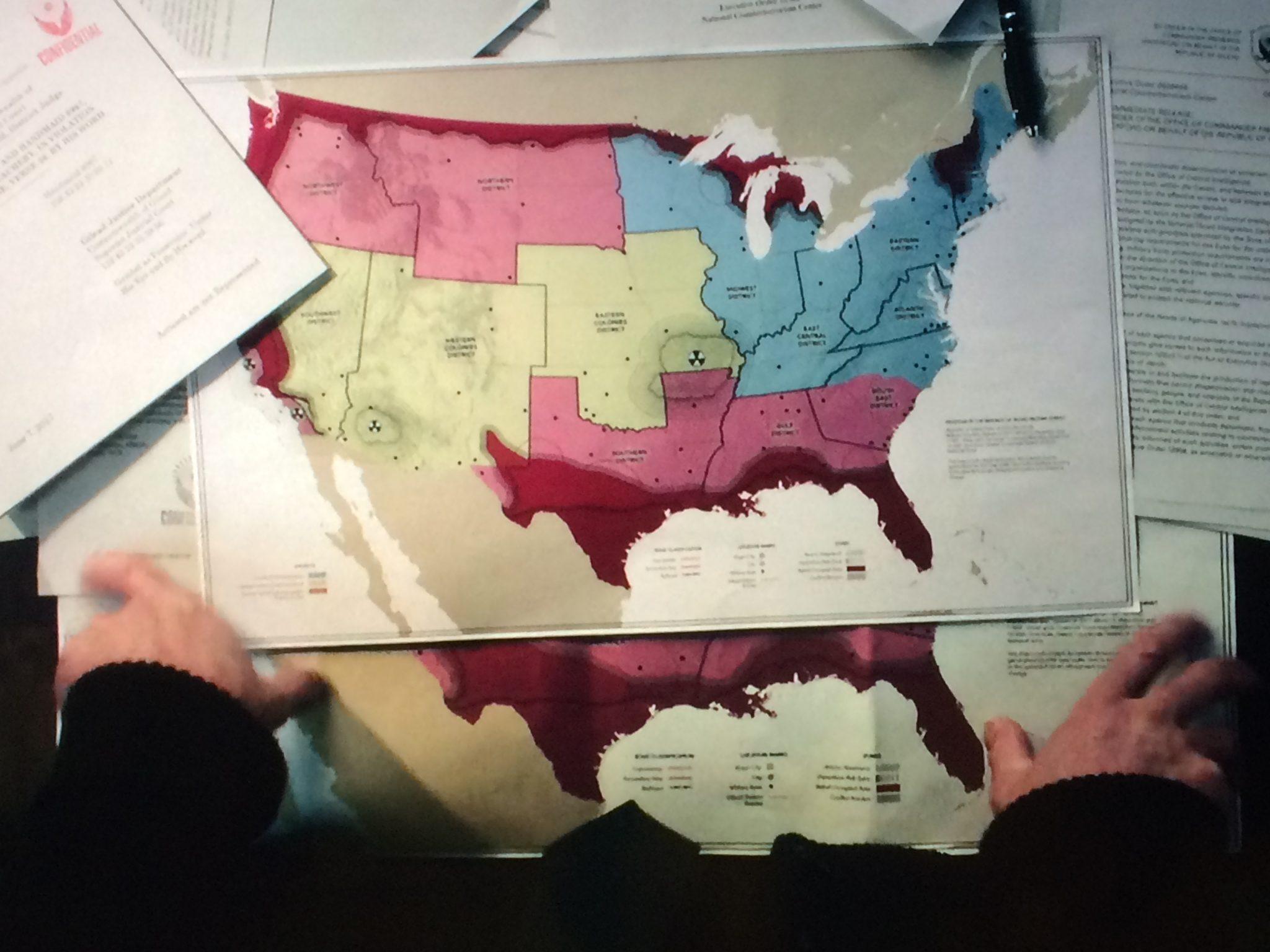 Handmaid's Tale Map