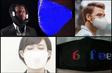 From upper left to lower right: MicroClimate, Amazon, LG, C-Face, Facebook